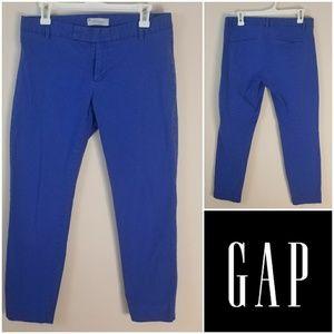 GAP | Blue Slim Cropped Trousers [Pants]